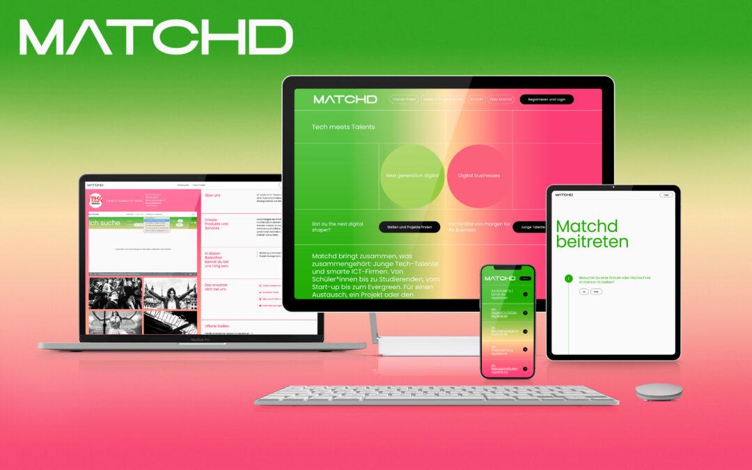 «IT rockt!» lanciert «Matchd»-Plattform